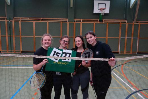 Badminton-Siegerinnen
